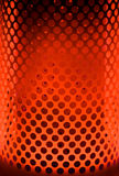 Paraffin Heater with Red Orange Glow stock photography