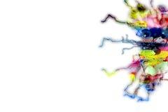 Paraffin, spielerischer abstrakter Hintergrund Feld Lizenzfreies Stockbild