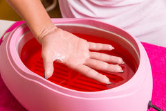 Paraffin treatment Royalty Free Stock Photos