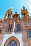 Parafia Święty serce Jezus kościół rzymsko-katolicki obrazy royalty free