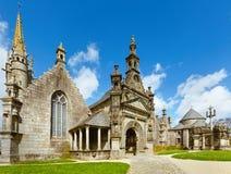 Parafia Guimiliau, Brittany, Francja fotografia stock