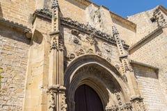 Parafia San Isidoro, Ubeda, Jaen, Hiszpania fotografia stock
