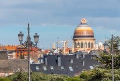 Parafia Santa Teresa i San Jose w Madryt fotografia stock