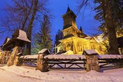 Parafia St Casimir w Koscielisko zdjęcia royalty free