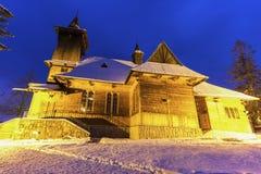 Parafia St Casimir w Koscielisko zdjęcie royalty free