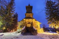 Parafia St Casimir w Koscielisko zdjęcia stock