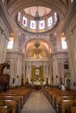 Parafia St Peter apostoł w Tlaquepaque, Meksyk obrazy stock