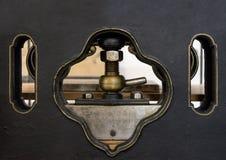 Parafuso da máquina na máquina impressora fotos de stock royalty free