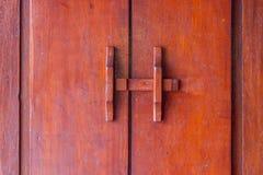 Parafuso de madeira fotografia de stock
