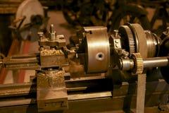 Parafuso de metal antigo no museu Imagens de Stock Royalty Free