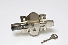 Parafuso e chave (i) fotografia de stock royalty free