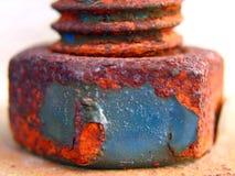 Parafuso e parafuso oxidados Imagem de Stock Royalty Free