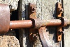 Parafuso oxidado velho Imagem de Stock