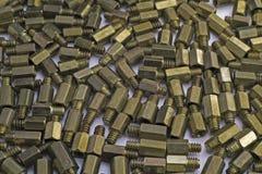 Parafusos da cremalheira Imagem de Stock