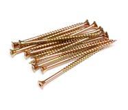 Parafusos de madeira Imagem de Stock