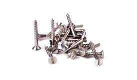 Parafusos de metal Fotos de Stock Royalty Free
