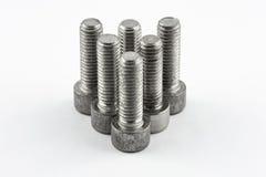 Parafusos de metal Foto de Stock