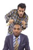 Parafusos fracos (conceito da saúde mental) fotos de stock