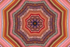 Parafusos Kaleidoscopic da tela estofando Imagem de Stock