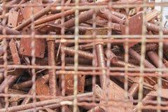 Parafusos oxidados foto de stock royalty free