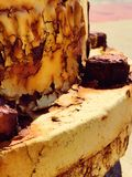 Parafusos oxidados Fotos de Stock Royalty Free