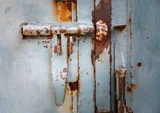 Parafusos oxidados em casa fotos de stock royalty free