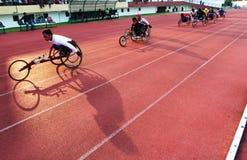 Paragames del Asean: atletico Fotografie Stock Libere da Diritti