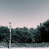 Paragem do autocarro Fotos de Stock