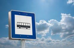 Paragem do autocarro Fotos de Stock Royalty Free