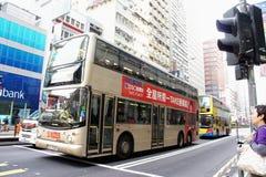 Paragem do autocarro público para a luz Imagem de Stock