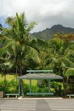 Paragem do autocarro tropical Imagens de Stock Royalty Free