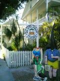 Paragem do ônibus Key West Foto de Stock Royalty Free