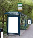 Paragens do autocarro Foto de Stock