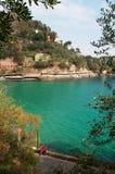 Paraggi, genua, Liguria, Włochy, włoszczyzna Riviera, Europa Obrazy Stock