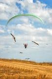 Paraglide стоковое изображение