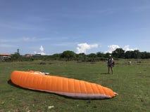 Paraglide obrazy royalty free