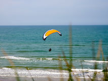 Paraglide Photo stock