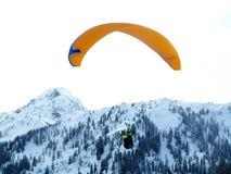 Paraglide immagine stock libera da diritti