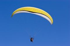 Paraglide tandem Stock Photography
