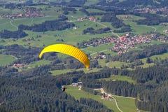paraglider Royaltyfria Bilder