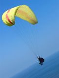 Paraglider. Sky paraglider Stock Photo