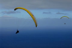 Paraglider. S on La Palma ( Canarian Islands stock images