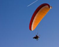 Paraglider Zdjęcia Royalty Free