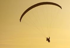 Paraglider. Royalty Free Stock Images