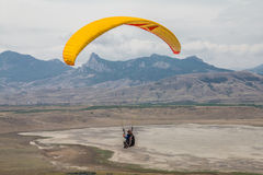 Paraglider Fotos de Stock Royalty Free