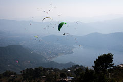 Paraglider Imagens de Stock Royalty Free