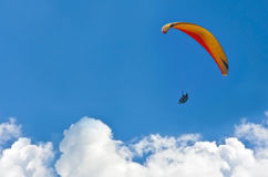 Free Paraglider Royalty Free Stock Image - 57609106