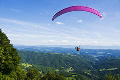 Paraglider Fotos de Stock