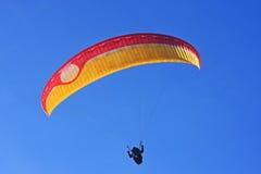 Paraglider Fotografering för Bildbyråer