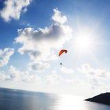 Paraglider Royaltyfri Foto
